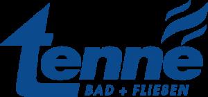 blaues logo tenne bad und fliesen