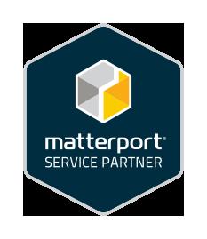 offizielles matterport service partner logo