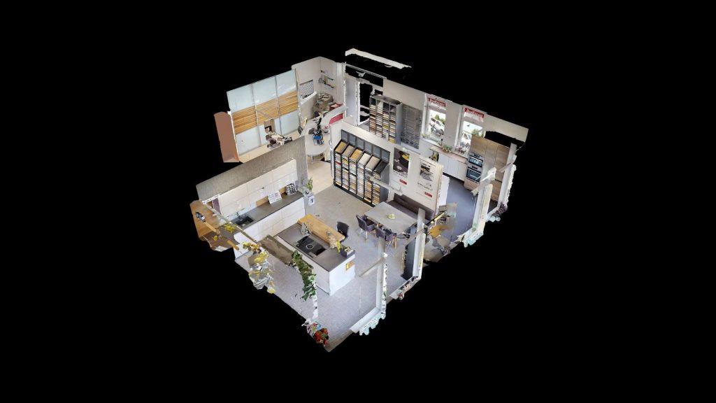 puppenhaus 3d ansicht von küchenstudio kaindorf