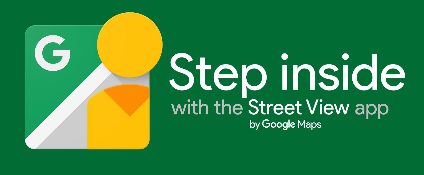 offizieller google street view step inside aufkleber