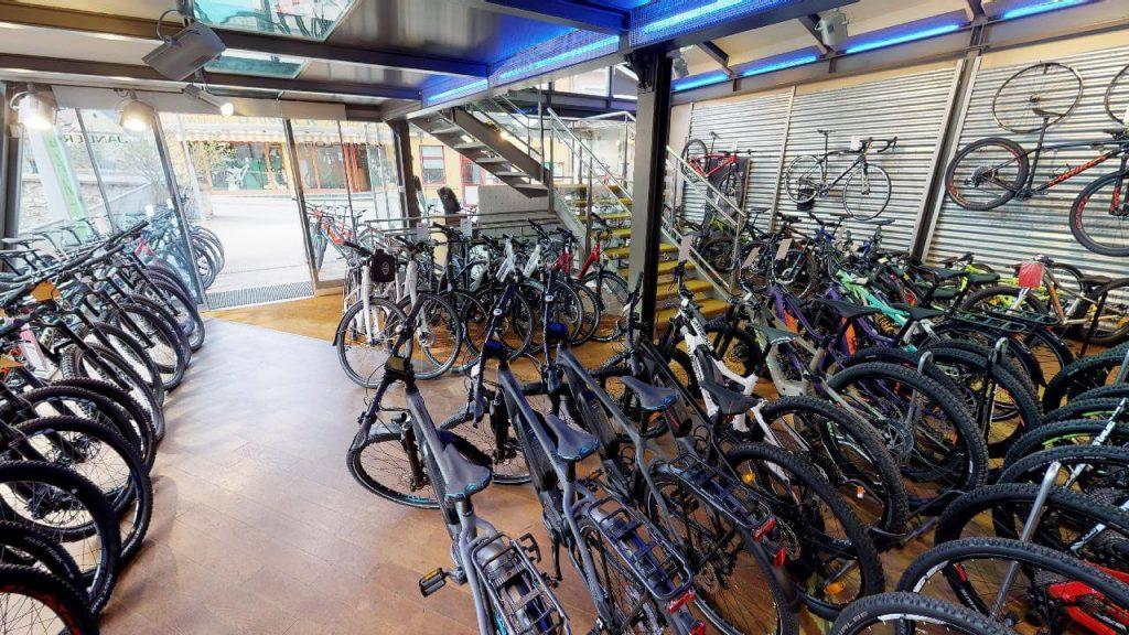 fahrräder bei zweirad janger in gratwein