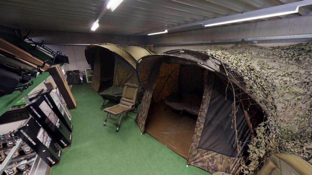 zelte in camouflage muster carphunter in dobl virtueller rundgang
