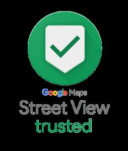 google street view trusted fotograf logo
