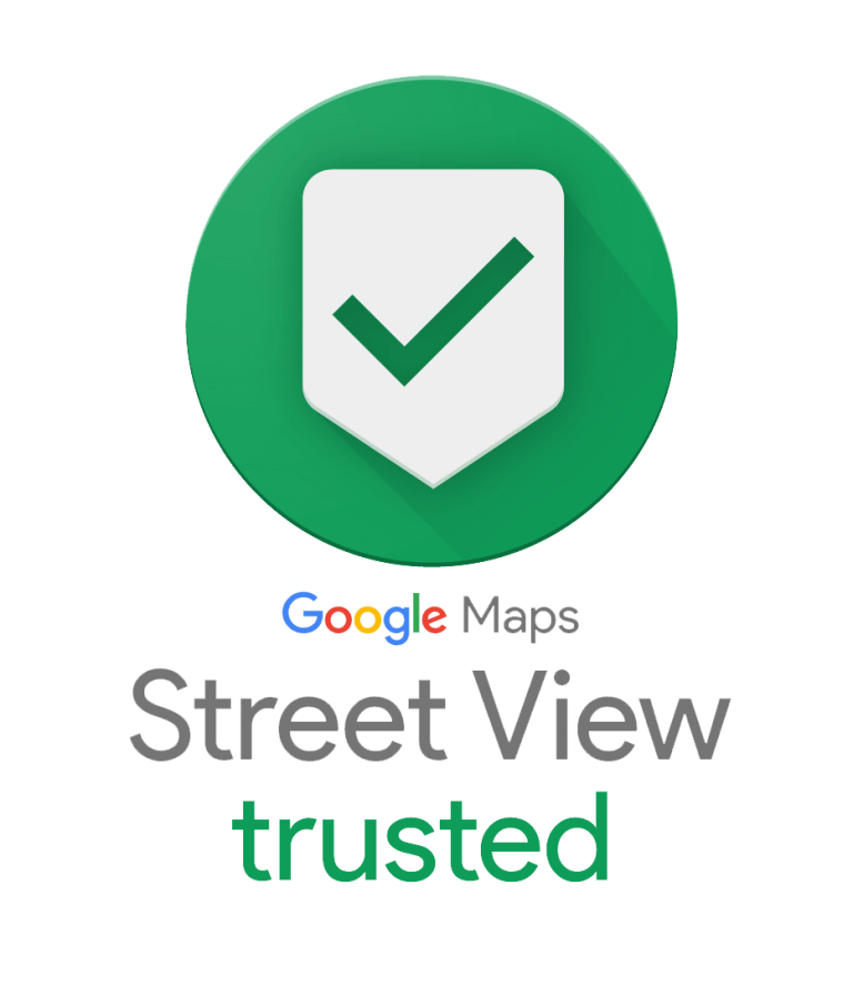 google street view trusted fotograf logo