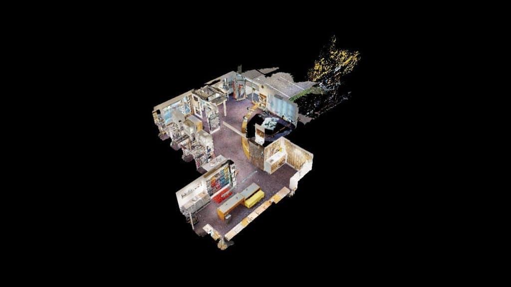 3D Puppenhaus Ansicht von KDK Raumausstatter in Feldbach