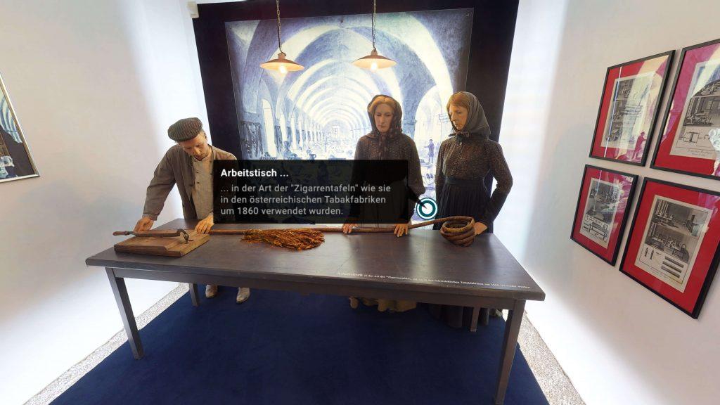 virtuelles museum in oesterreich pfeilburg fuerstenfeld ausschnitt aus tabakmuseum