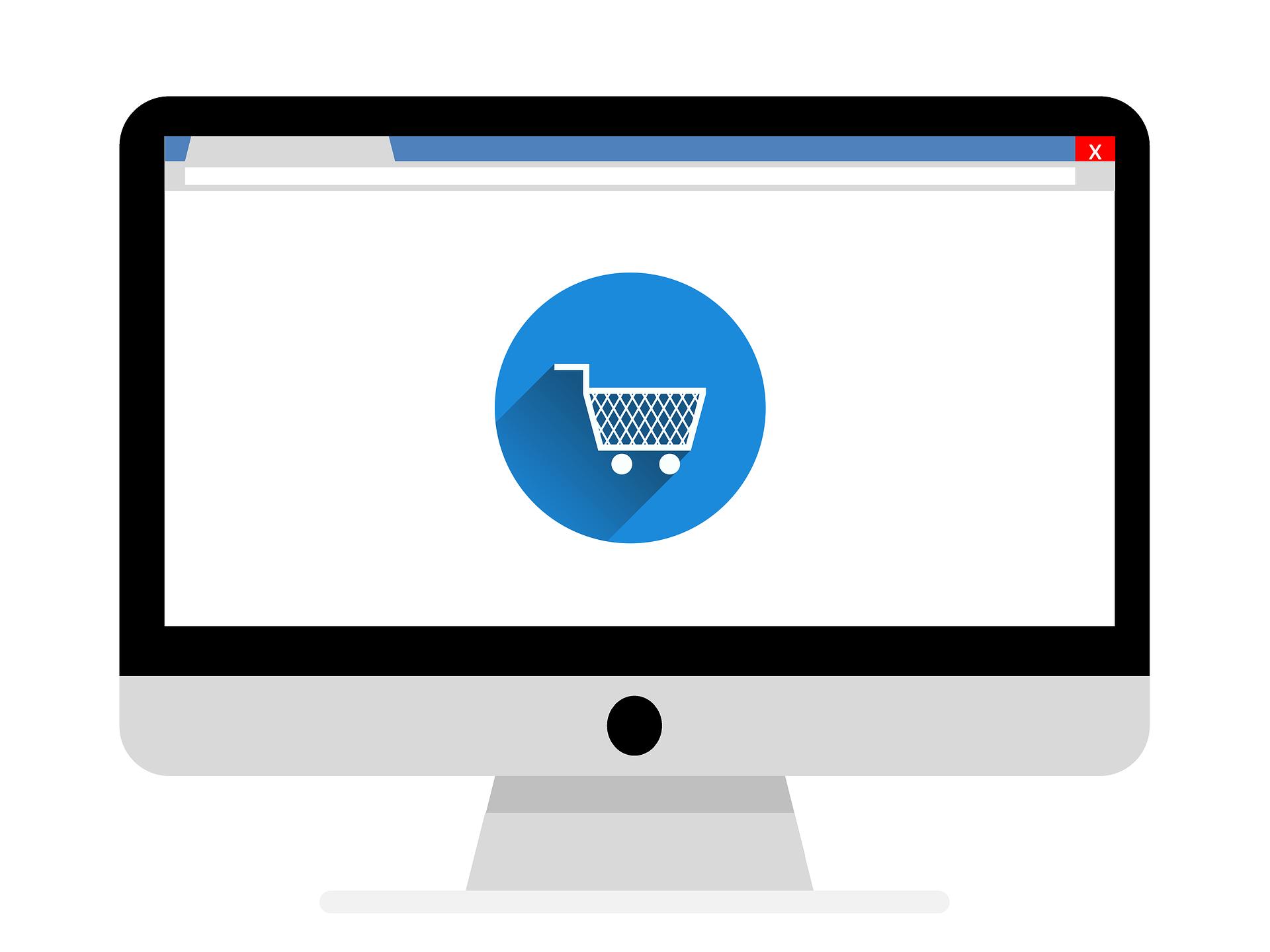 titelbile online shops mit einkaufswagen responsive webdesign ecommerce