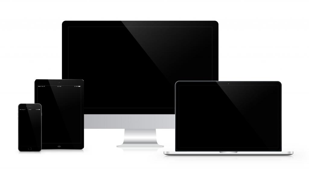 responsive webdesign desktop smartphone tablet 3d blick design